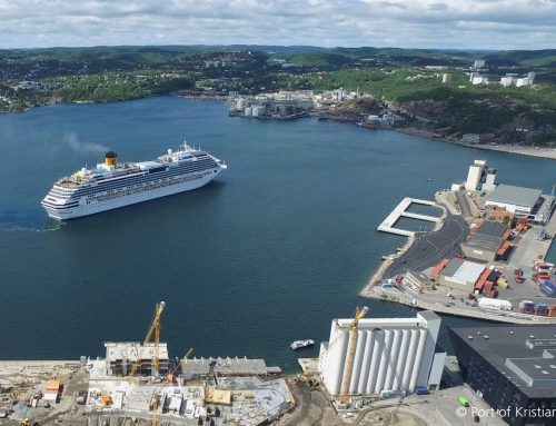 The Port of Kristiansand, Norway