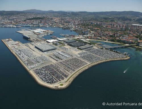 The Port of Vigo, Spain