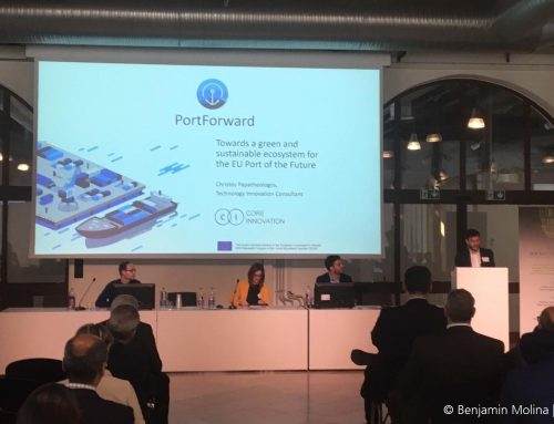 Core Innovation presents the PortForward vision of the Port of the Future at DocksTheFuture Midterm Conference in Trieste