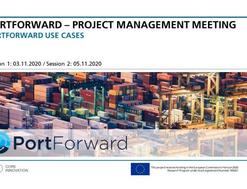 5th Project Management Meeting, Online on November 03-12, 2020