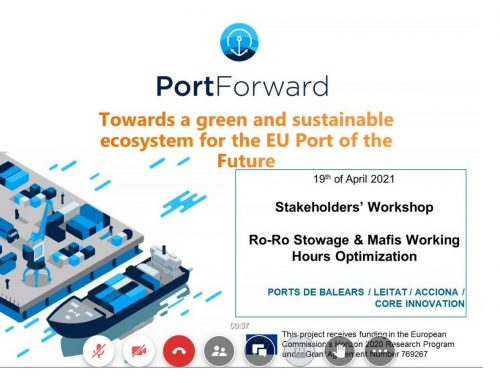 Stakeholders Workshop in Baleares | RoRo Stowage Optimisation and MAFI's working hours